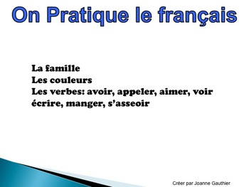 French Oral Practice for Beginners