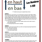 French Partner Activities with Numbers 1-100 (Speak, Liste