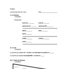 French Pronoun Practice Packet (Includes Dir, Indir, Y, En)