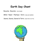 French Songs and Chants for Earth Day