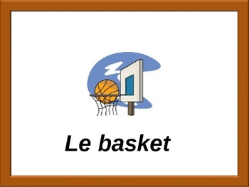French Sports and Activities Powerpoint (Activities and Games)
