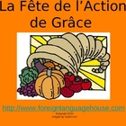French Thanksgiving Vocabulary PowerPoint