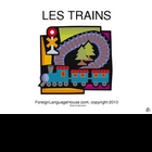 French Trains PowerPoint for Early Childhood