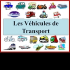 French Transportation Vocabulary Powerpoint (Activities an