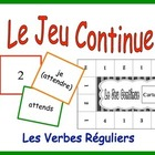French Verb Form Activity for Groups: Regular Verbs (ER, IR, RE)