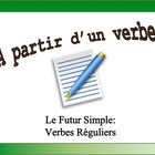 French Verb Form Practice with Sentences: Simple Future, R