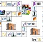 French Verb Game Board