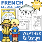 French Weather - Le Temps & La Météo