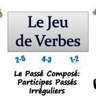 French Writing Activity : Passe Compose-Irregular  Past Pa