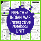 French and Indian War - Common Core Lesson