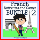 French for Kids 2 - Bundle of 10 French booklets - wks, ga