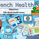 French health, what is wrong? santé, problèmes for beginners