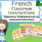 French instructions in the classroom