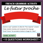 French – le futur proche (Immediate/Near Future)
