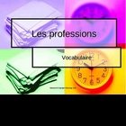 French occupations vocabulary PowerPoint