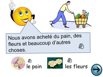French oral practice - passe compose