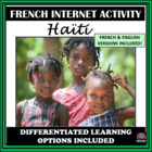 French/English – un peu d'Haiti – Haiti Webquest/Internet