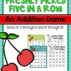 Freshly Picked Five in a Row {FREEBIE}