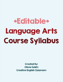 Freshman English Course Syllabus and Outline