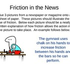 Friction Poster / Power Point