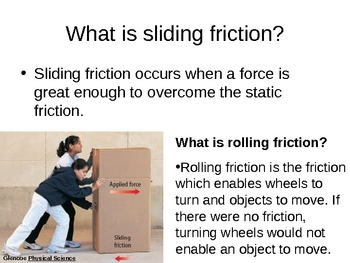 Friction Power Point Presentation