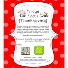 Fridge Facts {Turkey Day}