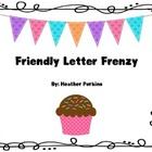 Friendly Letter Frenzy {Birthday Themed}