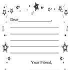 Friendly Letter Outline (beginners)