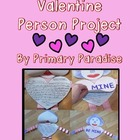 Friendly Letter Valentine Person Project