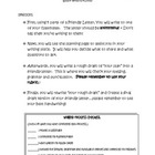 Friendly Letter Writing Activity
