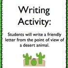 Friendly Letter Writing Prompt for Common Core W.2.5, W.3.