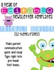 Friendly Monster Themed Classroom Newsletters