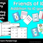 Friends of 10- addition to 10 card game
