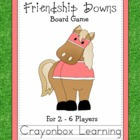 Friendship Downs Board Game, Kentucky Derby,  Freebie