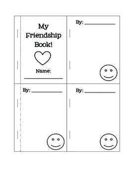 Friendship Mini Book - Freebie!