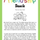 Friendship Snack Parent letter