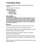 Friendship Walk