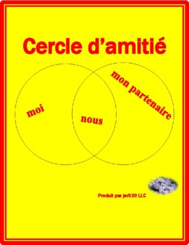 Friendship circle reflexive verbs in French