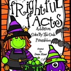 Frightful Facts: Addition Halloween Color By The Number Co