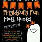 Frightfully Fun Math Hunts-SECOND GRADE EDITION