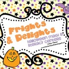 Frights and Delights - Halloween Math and Literacy Centers
