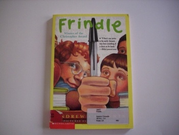 Frindle By Andrew Clements Pictures By Brian Selznick