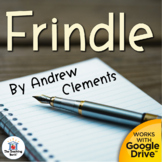 Frindle Novel Study Unit
