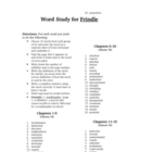 Frindle Spelling Words List Vocabulary Activity