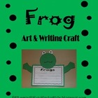 Frog Art & Writing