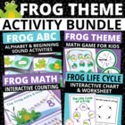 Frog Bundle: Activities for Preschool and Early Childhood