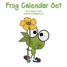 Frog Calendar Unit 