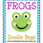 Frog Centers: Reading, Literacy, Math