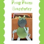 Frog Craftivity- information writing
