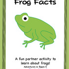Frog Facts ( A Partner Activity)